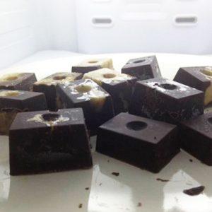 Raw Chocolate Date Blocks