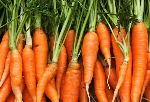 balance your hormones with carrots