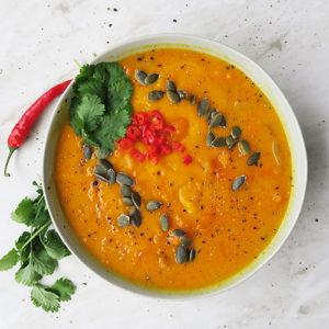 Simple Thai Pumpkin Soup