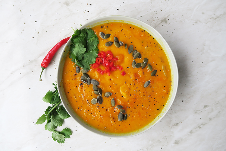 Simple Thai Pumpkin Soup