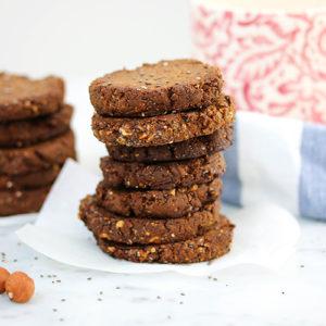 Hazelnut Chia Cookies