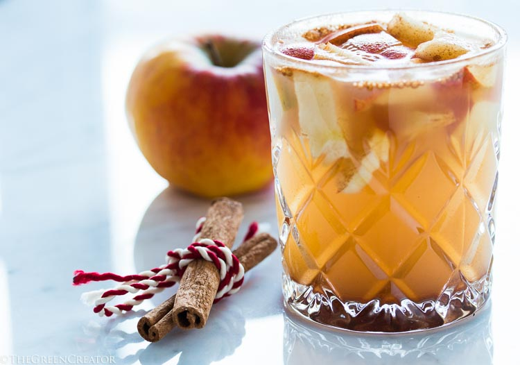 quick non-alcoholic warm apple cider