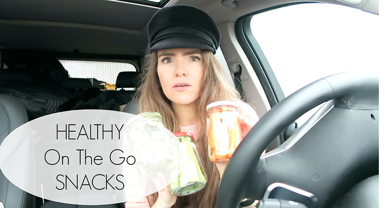 on the go healthy snacks
