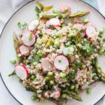 Asperge Salade met Boekweit en Radijsjes