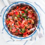 Chunky Tomato Red Pepper Salsa