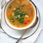 Veggie Split Pea Soup in the Instant Pot