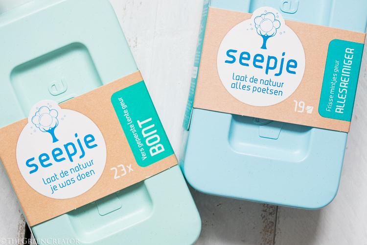 Natuurlijk en milieu vriendelijk schoonmaken met Seepje + WINACTIE!