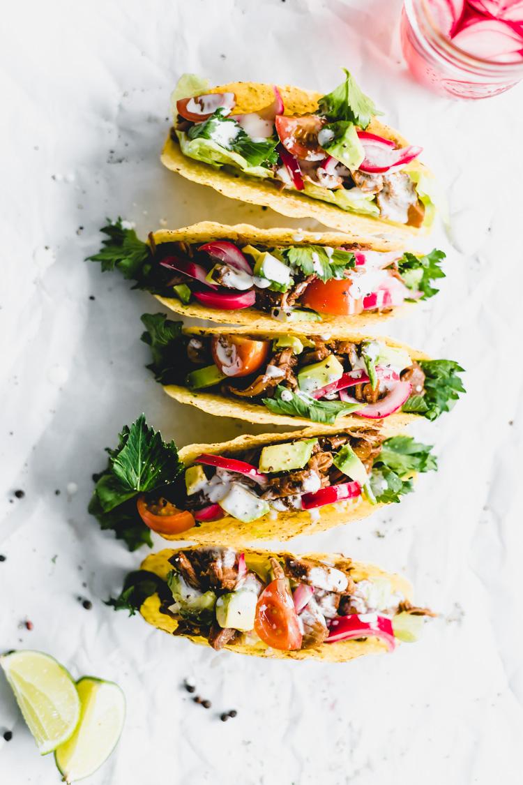 Jackfruit Taco's