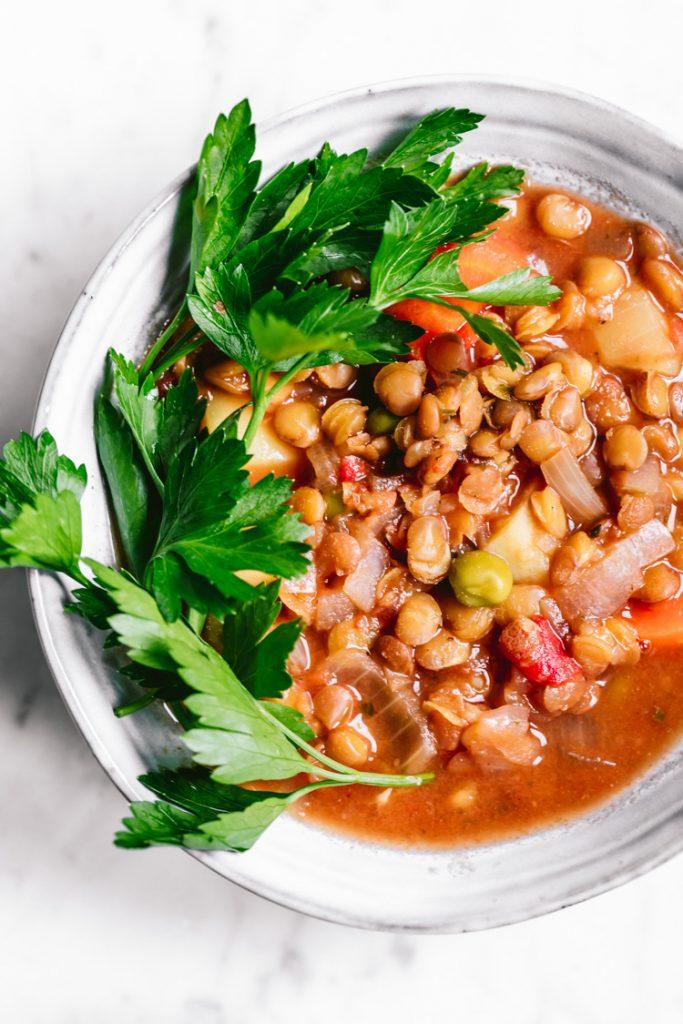 Vegan Potato Lentil Stew