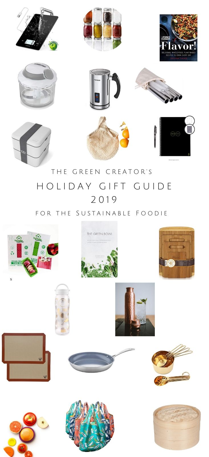 Holiday Gift Guide 2019 for the Sustainable Foodie